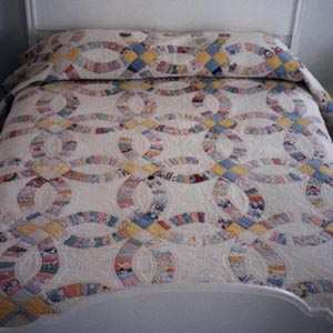 This quilt is especially precious to me because it brings together not ...